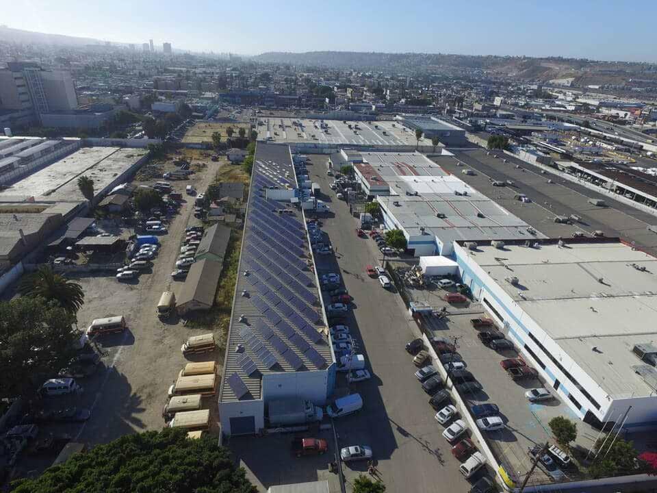 Sistema fotovoltaico industrial