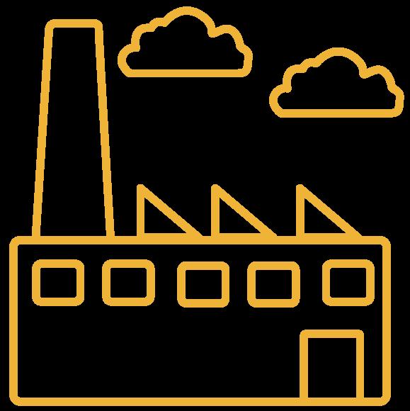 Paneles fotovoltaicos en una nave industrial