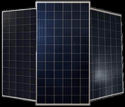 Paneles solares listos para su instalación en PYME